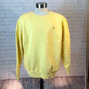 Polo yellow sweatshirt